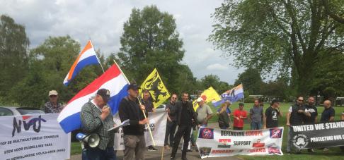 Nvu nederlandse volks unie - Groen baudet meisje ...